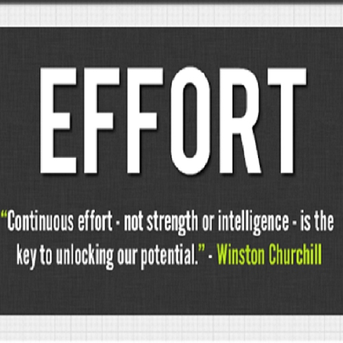 Continuous Effort
