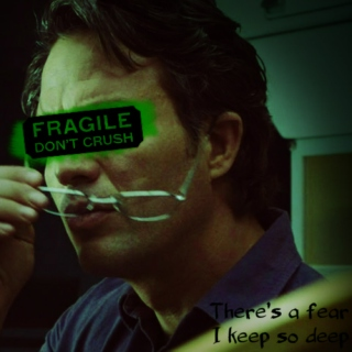 There's a fear I keep so deep: A Bruce Banner fanmix