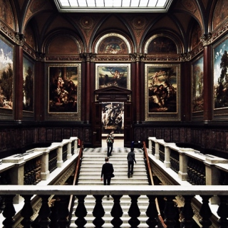 paintings and statues