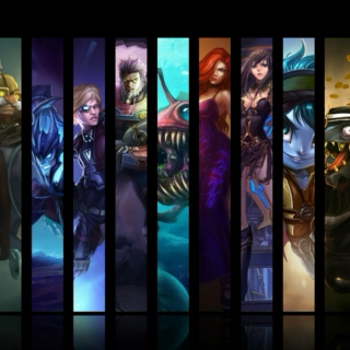 league of legends ADC mix