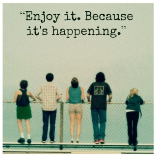 Enjoy it.. Because it's happening :)