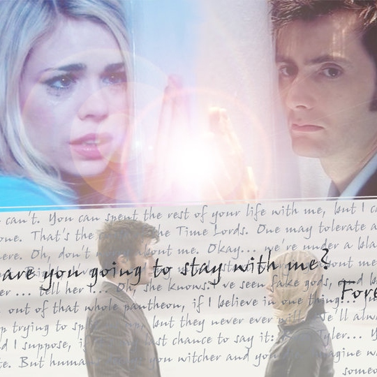Rose and The Doctor feels
