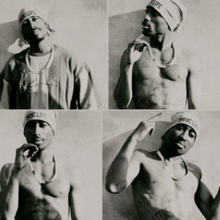 Tupac mixed tracks