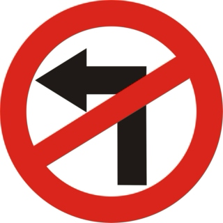 NO LEFT TURNs V1