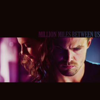million miles between us