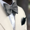 Pocket squares and bow ties