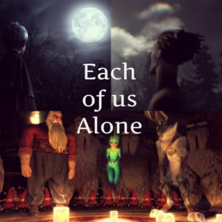 Each of us Alone