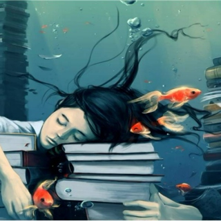 Swimming between pages: a study mix