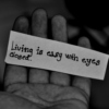 living is easy eyes closed.