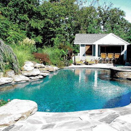 Summer House by the pool