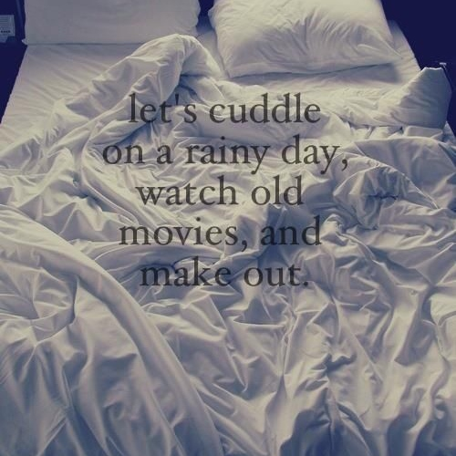come in with the rain ☂☁