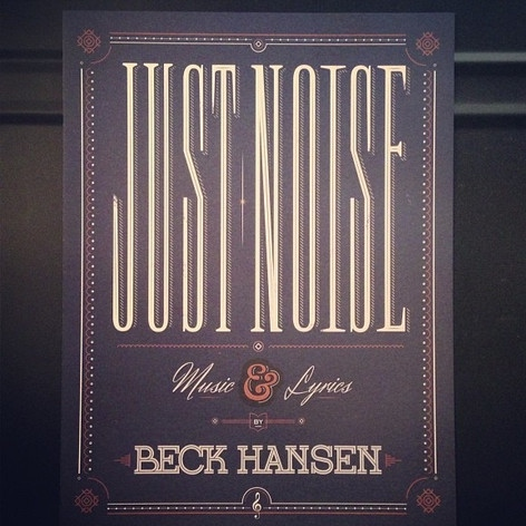 Beck Hansen's Song Reader: 'Just Noise'