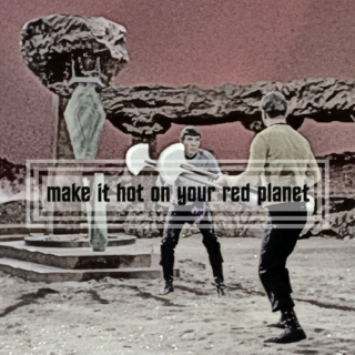 make it hot on your red planet