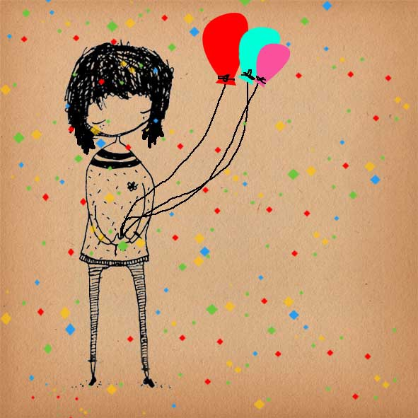 In my birthday... for you! ♥