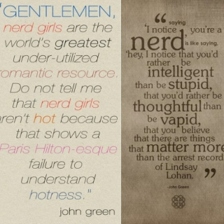 you must be john green