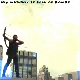 My mailbox is full of bombs: A Clint Barton fanmix