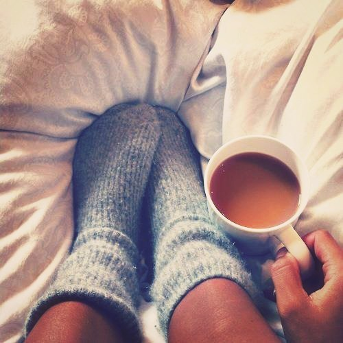 Cosy covers and cups of tea ☕