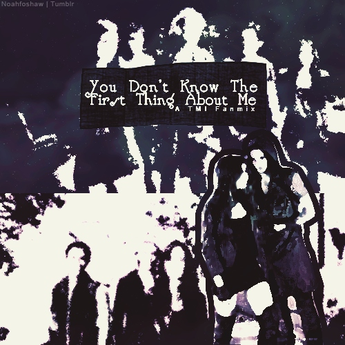 You Don't Know The First Thing About Me (TMI Fanmix #1)