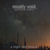 mostly void, partially stars