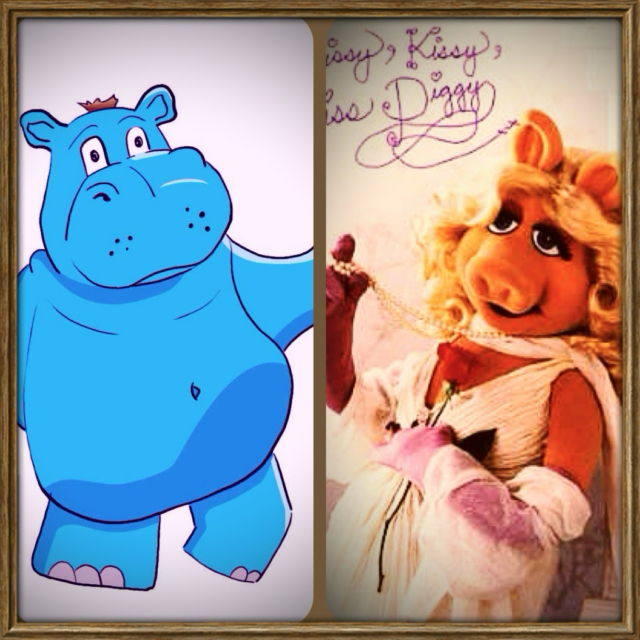 A Sexy Piggy & A Hippo: An Unconventional Love Story