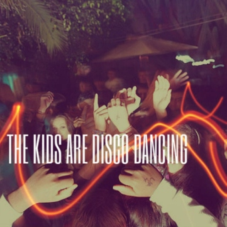 the kids are disco dancing
