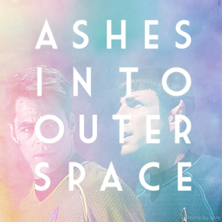 ashes into outer space