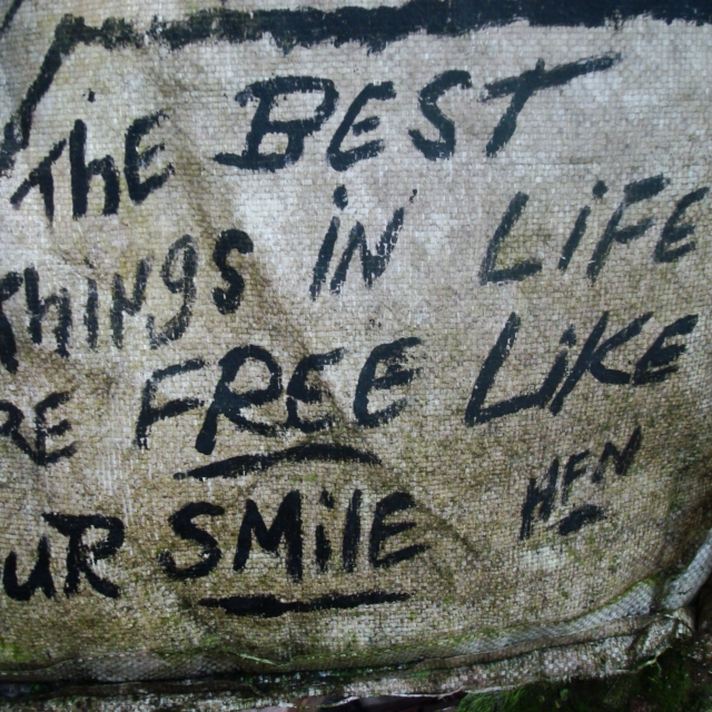 Best things in life are free...