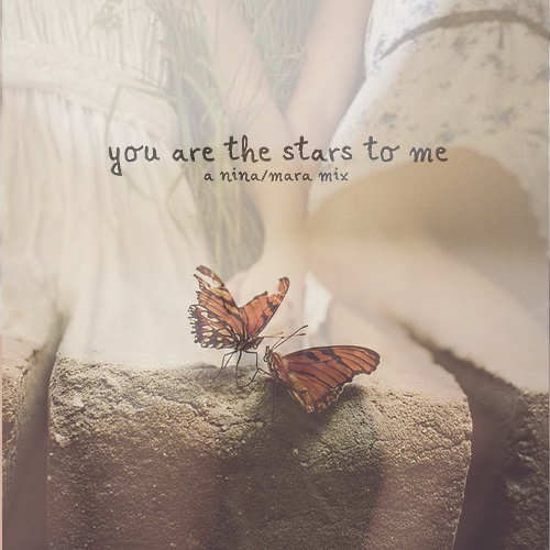 you are the stars to me
