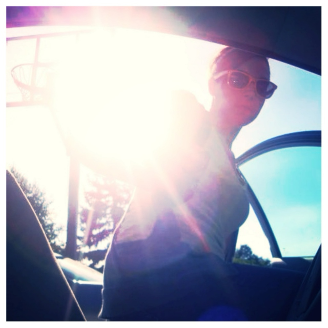 driving around till the sun goes down