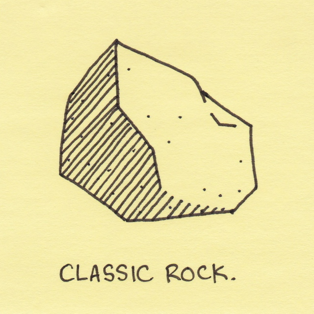This rock is classical !