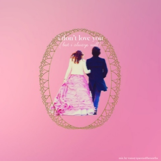 i don't love you (but i always will)
