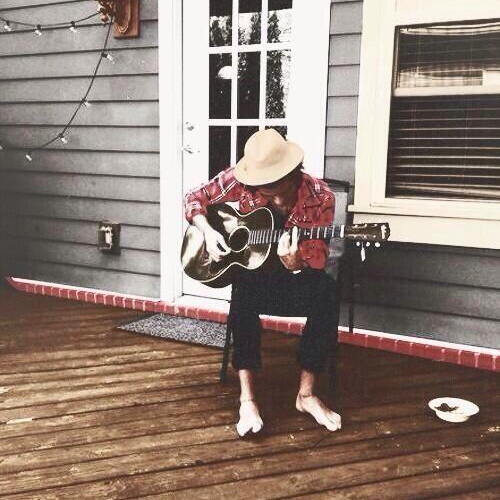 guitar session with harry