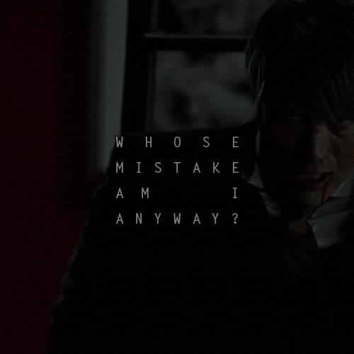 Whose Mistake Am I Anyway?
