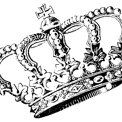 queens; wear that crown until it falls to the ground.