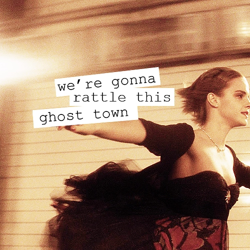 we're gonna rattle this ghost town