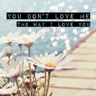 You Don't Love Me (The Way I Love You)