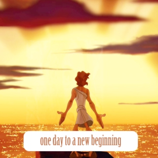 one day to a new beginning