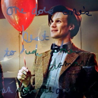 One Does One's Best To Hide The Damage {an Eleventh Doctor Fanmix}