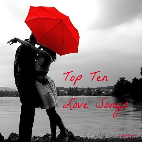 i'd fall anywhere with you (a top 10 love songs playlist, as of 2012)
