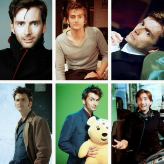 David Tennant and the magical smile.