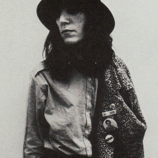You're the Robert Mapplethorpe to my Patti Smith.