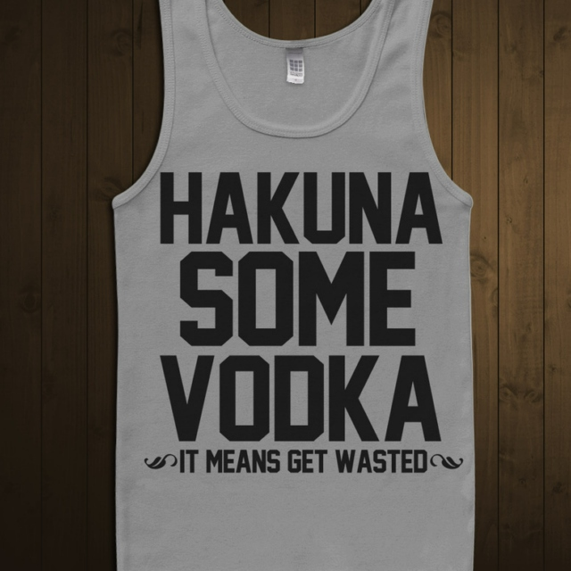 It means get wasted