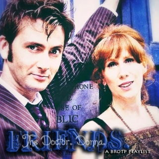 The Doctor. Donna. Friends.