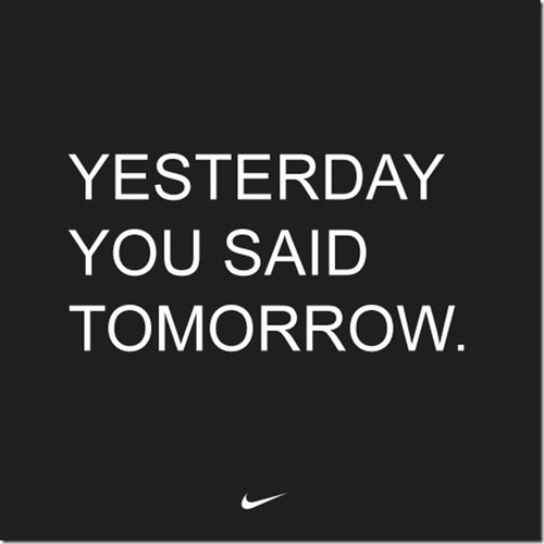 The Pain of Today is Tomorrow's Success