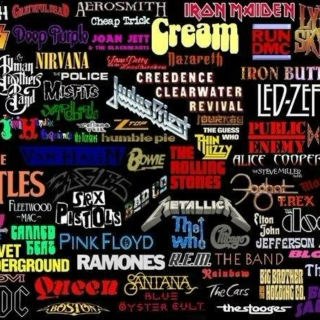 Classic 60's, 70's, and 80's rock
