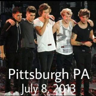 One Direction Pittsburgh Concert