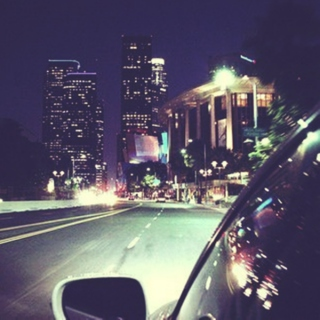 Night drive to the past