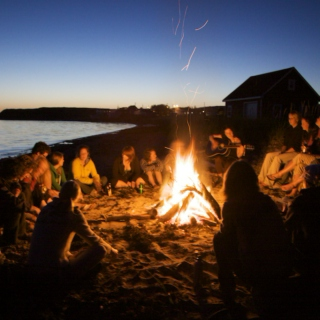 Beers, Bonfires and the Beach