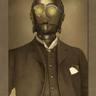 Caught in the throes of a dapper droid's wile.