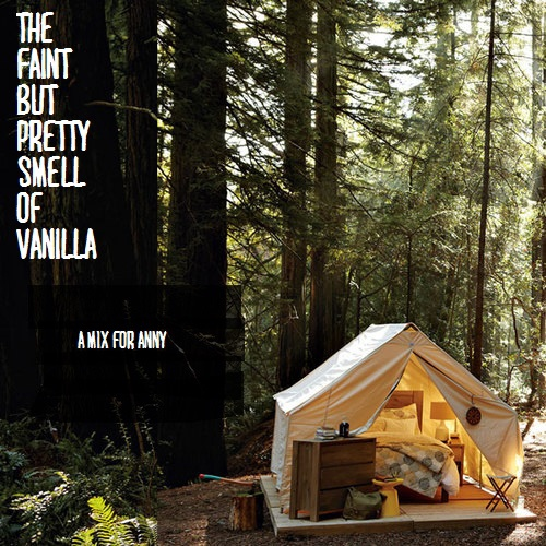 the faint but pretty smell of vanilla